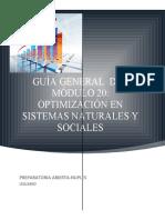 GUIA GENERAL MOD 20 Optimización en sistemas naturales y sociales