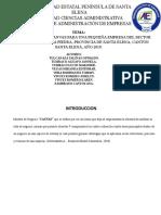 MODELO DE NEGOCIO CANVAS DISTRIBUIDORA PIEDRA