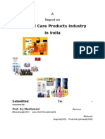 Personal Care Industry Report (3)