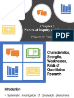 Chapter 1-Nature of Inquiry and Research