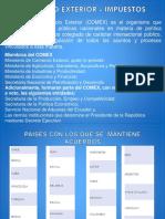 COMERCIO EXTERIOR - IMPUESTOS