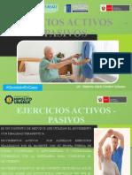 CLASE - EJERCICIOS ACTIVOS Y PASIVOS