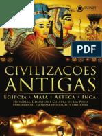 Civilizações antigas - Egípcia, Maia, Asteca e Inca