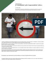 Como a substituição do 'trabalhador' pelo 'empreendedor' afeta a esquerda - Nexo Jornal