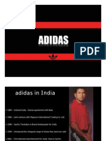 Adidas Mktg Industry Analysis (India)