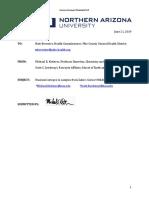 Northern Arizona University Report - Zahn's Corner - Ports