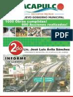 Segundo Informe Acapulco Diciembre de 2010
