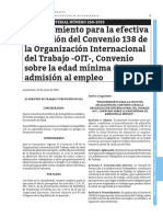 Acuerdo Ministerial 260-2019 Edad Minima de Admision de Empleo