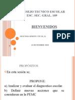 Presentación 2 SESIÓN  CTE  20-21