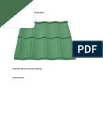 Daftar Harga Genteng Metal Roof