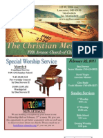 February 22 Newsletter