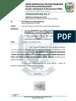Informe 91_mantenimiento Del Muro y Accesos c.p. Pichui San Pedro