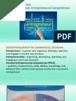 tle-personal entrepreneurial competencies