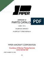 Pa 28rt 201 201t_pcv1995 Parts Catalog