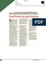Quel Plauto che apre l'inferno - Il Corriere Cesenate del 4 febbraio 2021