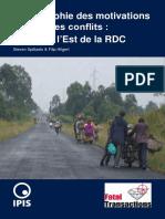 Derriere Les Conflits Le Cas de l Est de La RDC