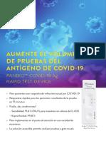 20 v2 Panbio COVID-19 Ag Sell Sheet ES  EME