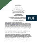 Estudo sobre Afrodite - Rosane Volpatto
