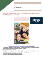 L7 ADOLESCENTES DINÂMICA