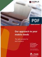 openTrends Mobile Solutions brochure