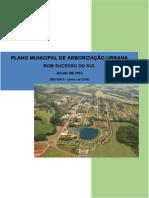 Plano de Arborizacao Urbana de Bom Sucesso Do Sul