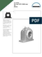 Renk Slide Bearings Type EG