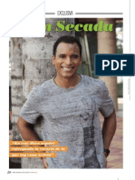 Jon Secada Entrevista in New Model Magazine - February Issue