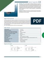 SCR Sensor Capacitivo