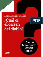 Cuál es el origen del diablo - Ariel Álvarez Valdés