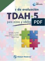 Escala de evaluación TDAH-5 para niños y adolescentes, ed. 1 - George J. DuPaul-_000