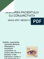 Îngrijirea Pacientului Cu Conjunctivita
