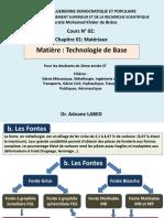 Technologie de base (cours N° 02) (1)