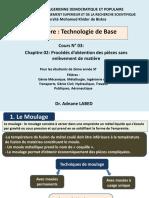 Cours n°03 Technologie de base