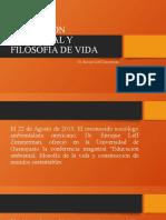 EDUCACIÓN AMBIENTAL Y FILOSOFÍA DE VIDA