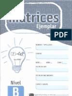 Matrices, Nivel b