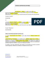 Contrat Apporteur Daffaires