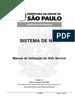 manual envio nfse sao paulo