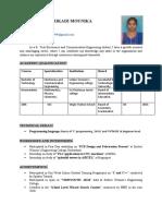g.mounika Resume