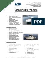 Tarifas Sabor 600 fisher (CABIN)