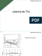 sistema de tiroVentiladores  V