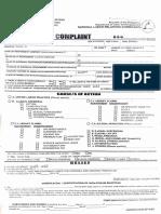 Local Labor Complaint Form