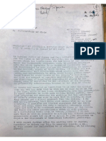 Civil Service Memos and Letter From Howe to Prior