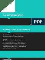 La argumentación (resumen de la unidad)