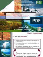 3. Los ecosistemas