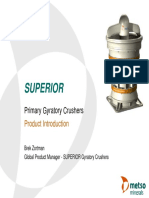 Superior Gyratory Crusher introduction