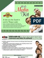 EXTRA 2010 Media Kit No Prices