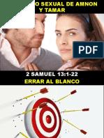 06 El Pecado Sexual de Amnon y Tamar