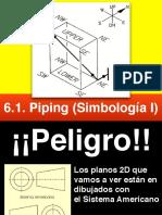 6.1. PIPING ( Simbología I )