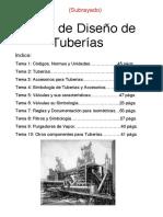 9.1. DISEÑO DE TUBERIAS INDUSTRIALES (Parte I)