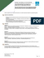 Gestión de Proyectos de Telecomunicaciones
